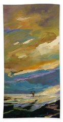 Coastline Beach Towel