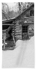 Slayton Pasture Cobber Cabin Trapp Family Lodge Stowe Vermont Beach Towel