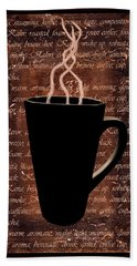Coffee Time Beach Towel