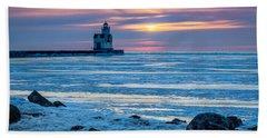 Cold Pastels Beach Sheet