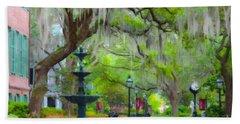 College Of Charleston Beach Towel