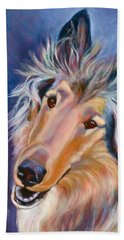 Collie Star Beach Towel
