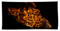 Fire Cresset Beach Towel