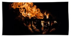 Fire Cresset Two Beach Towel
