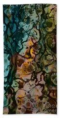 Color Abstraction Xvi Beach Sheet