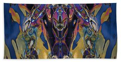 Color Abstraction Xxi Beach Towel by David Gordon