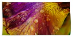 Color And Droplets Beach Sheet by Jeff Swan