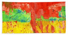Color Splash  Beach Towel by Prakash Ghai