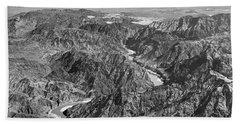 Beach Sheet featuring the photograph Colorado Boulder Canyon by Granger
