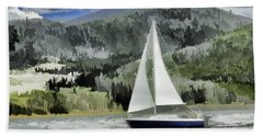 Colorado By Wind Beach Towel