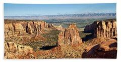 Colorado National Monument Beach Towel