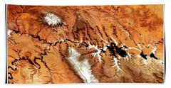 Colorado Plateau Nasa Beach Sheet