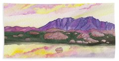Colorado Reflections Beach Towel