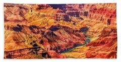 Colorado River 1 Mi Below 100 Miles To Vermillion Cliffs Utah Beach Sheet