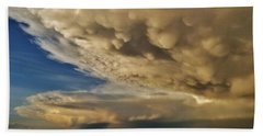 Beach Towel featuring the photograph Colorado Supercells by Ed Sweeney