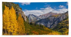 Colorado's Carpet Of Color Beach Towel