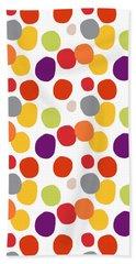 Colorful Confetti  Beach Towel