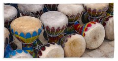 Colorful Congas Beach Towel