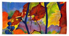 October Colors Beach Towel
