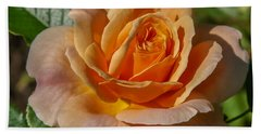 Colorful Rose Beach Sheet by Jane Luxton