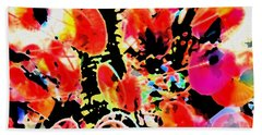 Colors And Emotions Beach Towel