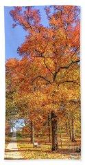 Colors Of Fall Beach Sheet