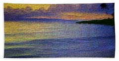Beach Sheet featuring the digital art Colors Of Paradise by Anthony Fishburne