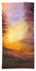 Colors Of The Morning Light Beach Towel by Lilia D