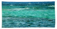 Colors Of The Sea  Beach Towel