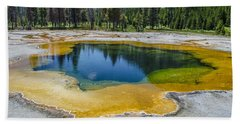 Colors Of Yellowstone Beach Sheet