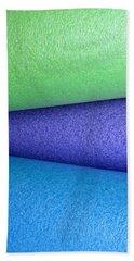 Colorscape Tubes B Beach Towel