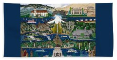 Columbia River Gorge Beach Towel