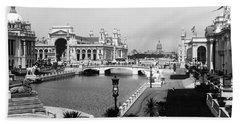 Columbian Exposition, Reflecting Pool Beach Towel