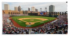 D24w-295 Columbus Clippers Photo Beach Towel