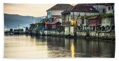Combarro Pontevedra Galicia Spain Beach Sheet by Pablo Avanzini