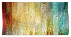 Come A Little Closer - Abstract Art Beach Towel by Jaison Cianelli