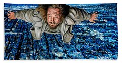 Come Fly With Me Beach Towel by Tom Roderick