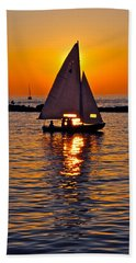 Come Sail Away With Me Beach Towel
