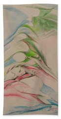 Beach Sheet featuring the painting Comfort by Mike Breau