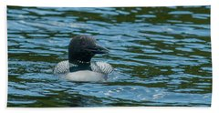 Common Loon Beach Sheet