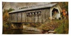 Comstock Bridge 2012 Beach Towel