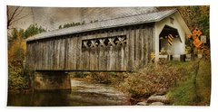 Comstock Bridge 2012 Beach Towel
