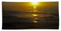 Conanicut Island And Narragansett Bay Sunrise II Beach Towel