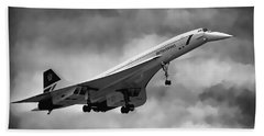 Concorde Supersonic Transport S S T Beach Towel