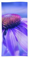 Cone Flower In Pastels  Beach Towel