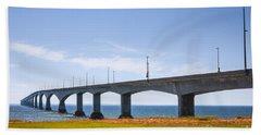 Confederation Bridge Beach Towel
