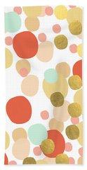 Confetti- Abstract Art Beach Towel
