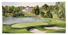 Congressional Golf Course 10th Hole Beach Towel