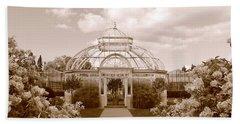 Conservatory- Sepia Beach Sheet