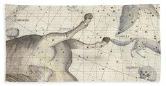 Constellation Of Pegasus Beach Towel